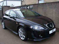 "08 08 REG SEAT LEON 1.4 TSi TURBO SPORT 5DR FR550 WIDE BTTC BODYKIT+18"" ALLOYS"