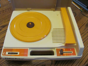 Childs Fisher Price Record Player