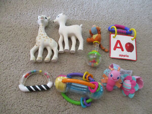 sophie the giraffe and other infant toys Kitchener / Waterloo Kitchener Area image 1