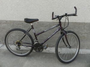 two 26''mens mountain bikes for sale