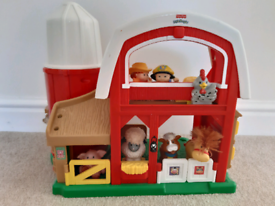 Fisher Price Farm and Animals, with 7 characters and sounds effects