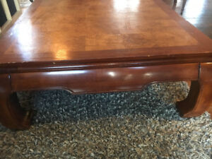 4 piece coffee table, end tables, sofa table SET