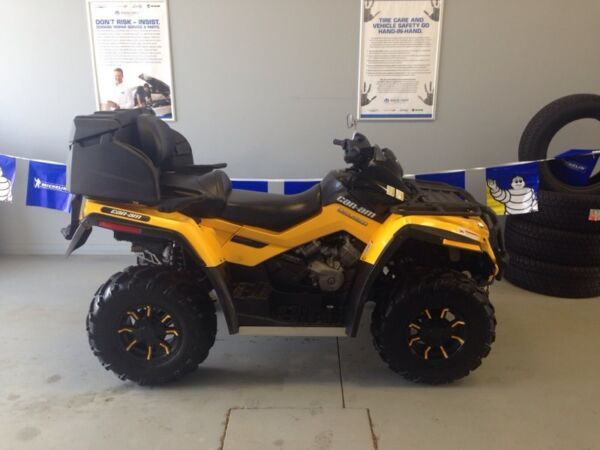 Used 2012 Can-Am outlander 2up