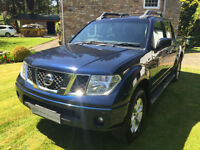 NISSAN NAVARA D40 2.5 DCI OUTLAW DOUBLE CAB PICKUP IN GREY NO VAT SE AVENTURA