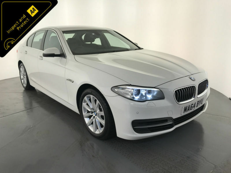 2014 64 BMW 520D SE AUTO DIESEL 4 DOOR SALOON 1 OWNER SERVICE HISTORY FINANCE PX