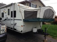 17ft hybrid travel trailer