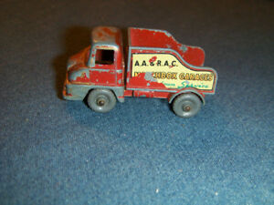 VINTAGE THAMES TRADER WRECKER TRUCK-LESNEY-MATCHBOX-MISSING PART