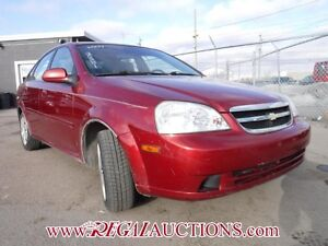 2004 CHEVROLET OPTRA LS 4D SEDAN LS