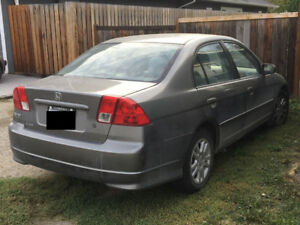 2005 Honda Civic Sedan - Manual - **Price Negotiable**