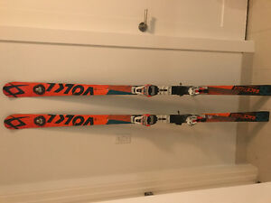 Volkl race tiger GS 188 with bindings