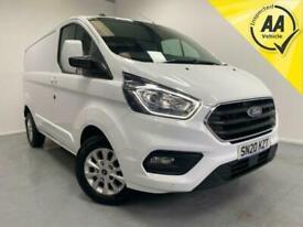 2020 Ford Transit Custom 280 Limited L1 H1 Diesel NO VAT Euro 6 Panel Van Diesel