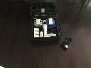 Inspire 1 drone, case, Accessories  and 4 batteries.