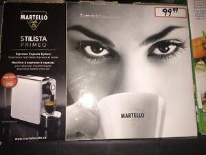 MARTELLO STILISTA PRIMEO MACHINE À EXPRESSO À CAPSULES
