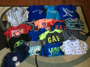 Boys Size 7/8 Brand Name Full Wardrobe - Over 50 items