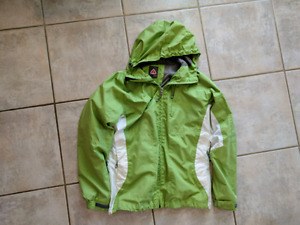 Green Firefly woman's jacket. Size Large