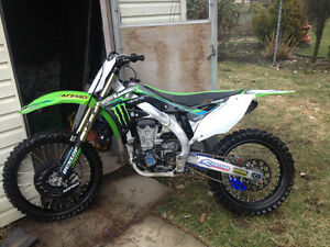 2012 Kawasaki kx450f NEED GONE