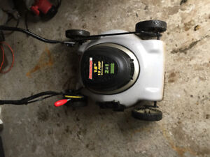 Electric duramax lawnmower for sale