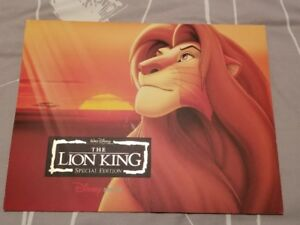 Disney's The Lion King Special Edition Lithographs