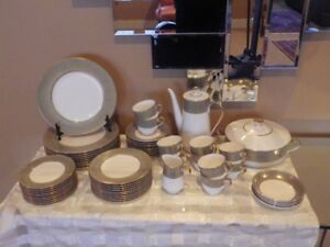 Mikasa Rosemont Bone China 57 Piece Dinnerware Service