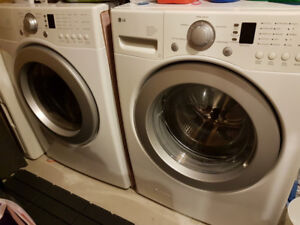 LG Front Load Washer & Dryer Combo
