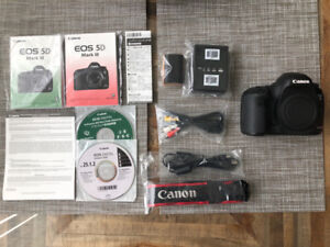 Canon 5D Mark III DSLR w/ Battery Grip, Bag, WiFi Cards etc.