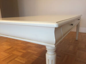 Wooden French Country Coffee Table