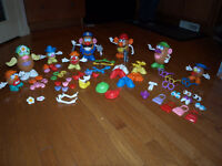 HUGE collection of Mr. Potato Head + accessories