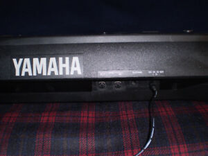 Yamaha Keyboard + Stand + Bench