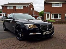 Bmw 730d m-sport rear entertainment TV's DVD LUXURY may p/x