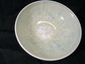 A Jay Z. Crystalline Glaze Arts Craft Porcelain Bowl