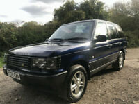 Land Rover Range Rover 2.5D 2498cc auto 2000MY HSE only 72383 miles with history