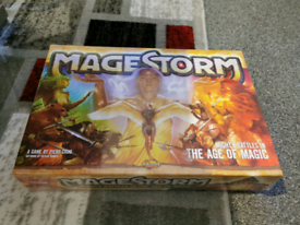 Mangestorm the age of magic board game new sealed