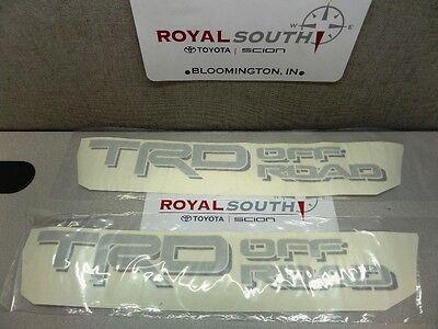 Toyota Tundra 2014 TRD Off Road Decal Emblem Sticker Kit Genuine OE OEM light