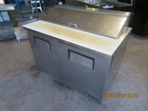 Prep Table / Salad Table / Refrigerated / 4 Foot TRUE
