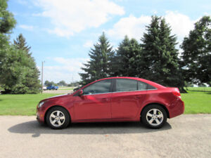 2012 Chevrolet Cruze LT Sedan- ONE OWNER & JUST 108K!!  $9950