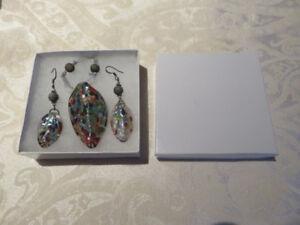 Glass Jewelry Set