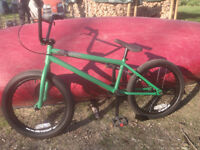 Premium Solo Plus Green BMX