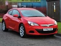2012 Vauxhall Astra Gtc 1.7 CDTi 16v Sport (s/s) 3dr