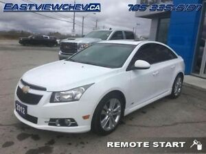 2012 Chevrolet Cruze LT Turbo   - $109.45 B/W