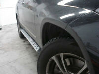 OEM FIT RUNNING BOARD SIDE STEP BAR MERCEDES ML350