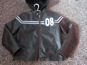 Youth Motorcycle Style Spring Jacket