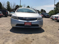 2007 Honda Civic DX-G Sedan/Accident Free/6 Months Warranty Mississauga / Peel Region Toronto (GTA) Preview