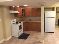 Spacious 1 Bedroom Basement Apartment For Rent in Vaughan