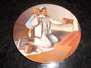 5 Norman Rockwell collectible plates London Ontario image 5