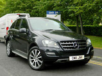 2011 Mercedes-Benz ML300 3.0TD ( 204bhp ) 4X4 BlueEFFICIENCY Auto Grand Edition