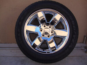 "20"" GMC - CHEVROLET TRUCK & SUV FACTORY WHEELS/TIRES - $1850"