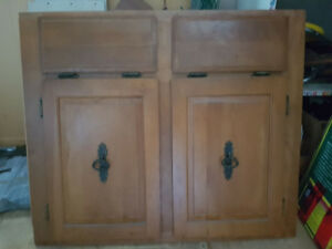 Maple cupboard front
