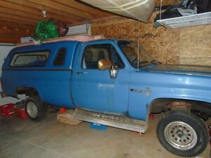 mechanically complete 1984 Chevrolet C10 Pickup Truck