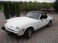 1976 Triumph Spitfire 1500 series convertible roadster