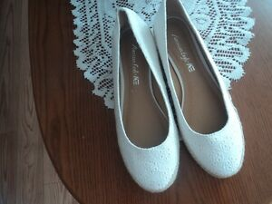White American Eagle shoes from Payless